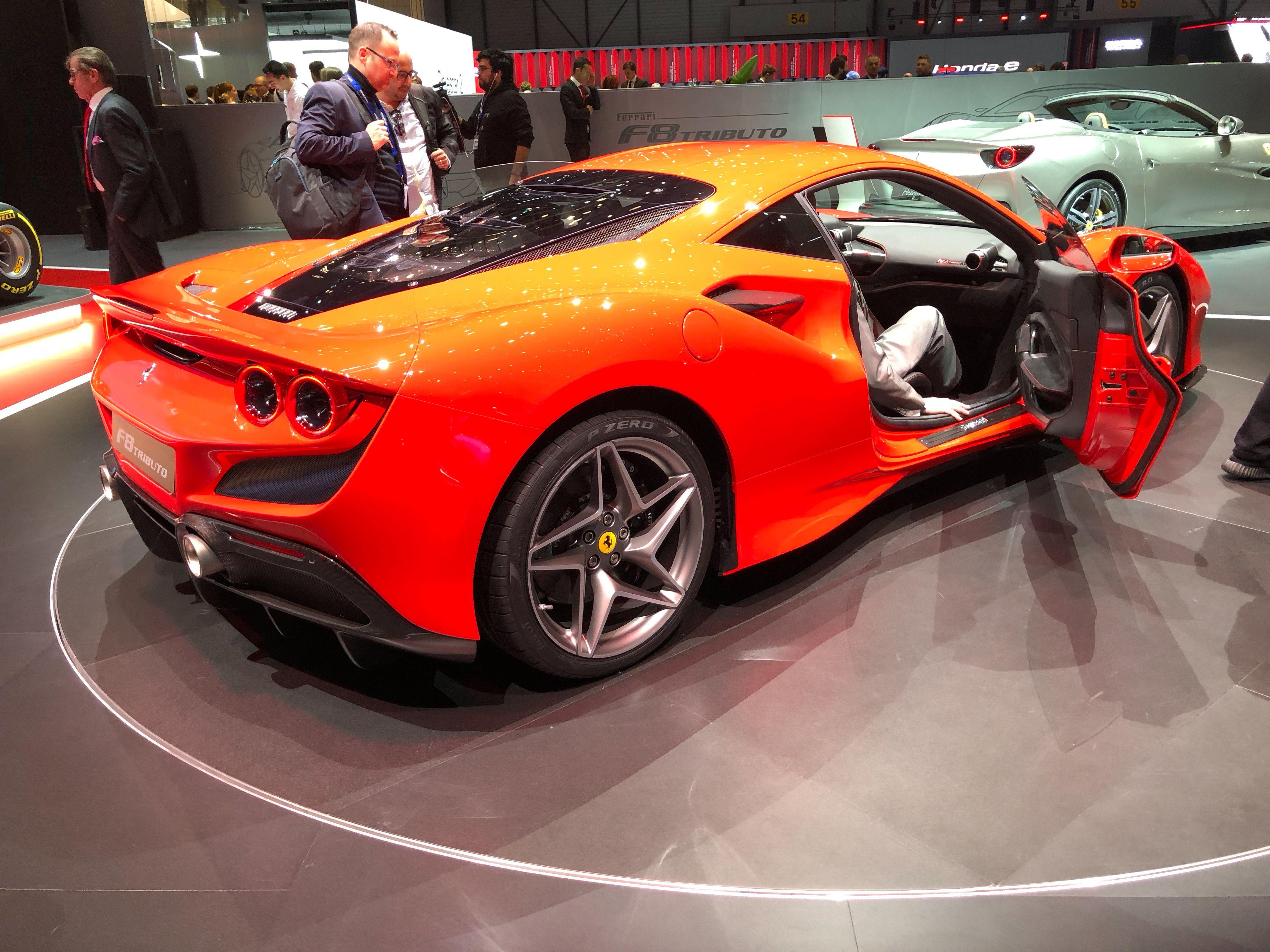 2019 Ferrari F8 Tributo Interior Cars Wallpapers Hd