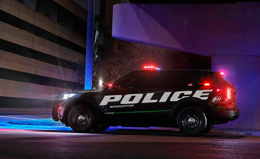 2020 Ford Explorer-Based Police Interceptor Utility Is Quickest in Cops' Test