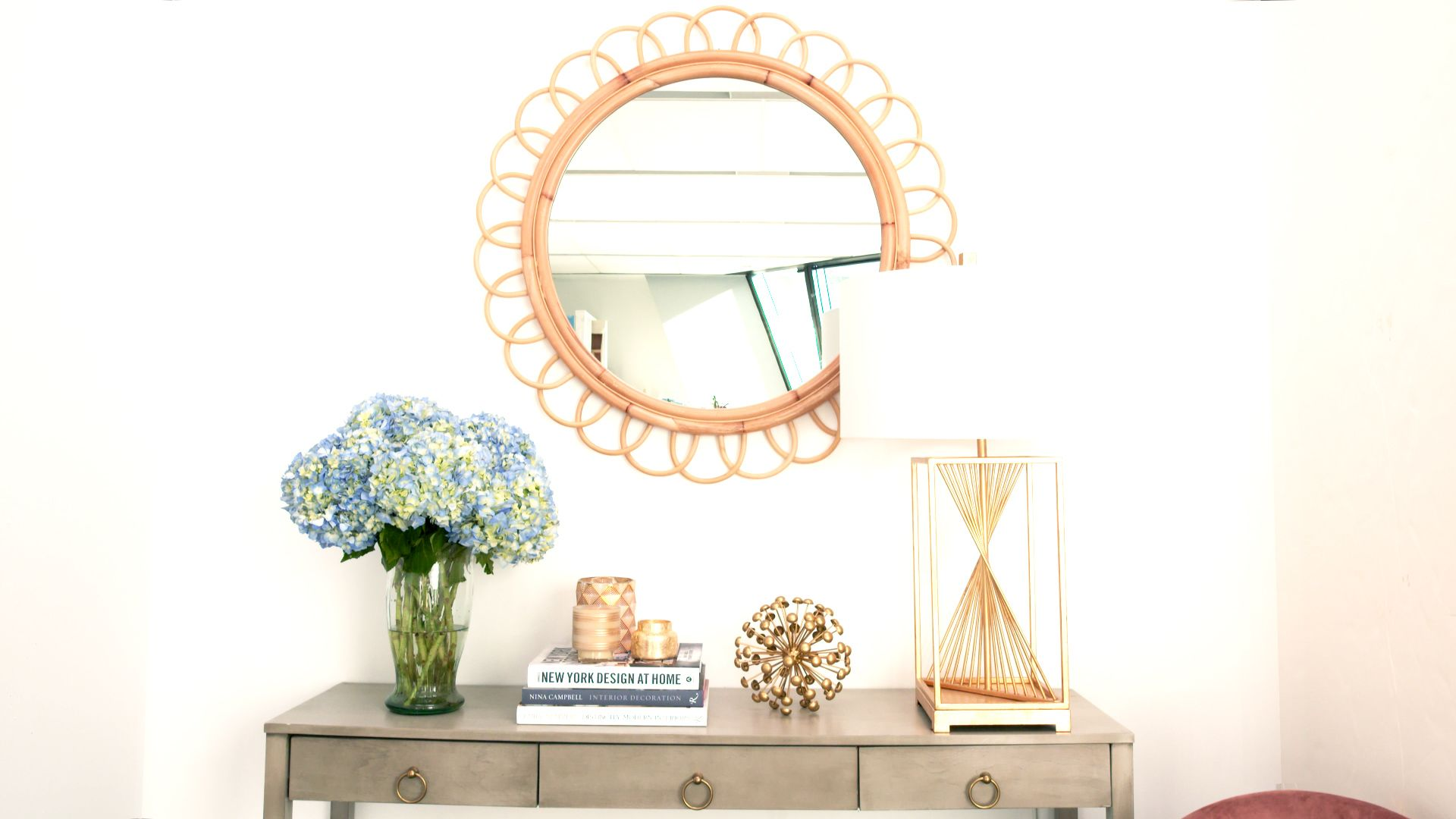 The Best Way to Hang a Wall Mirror