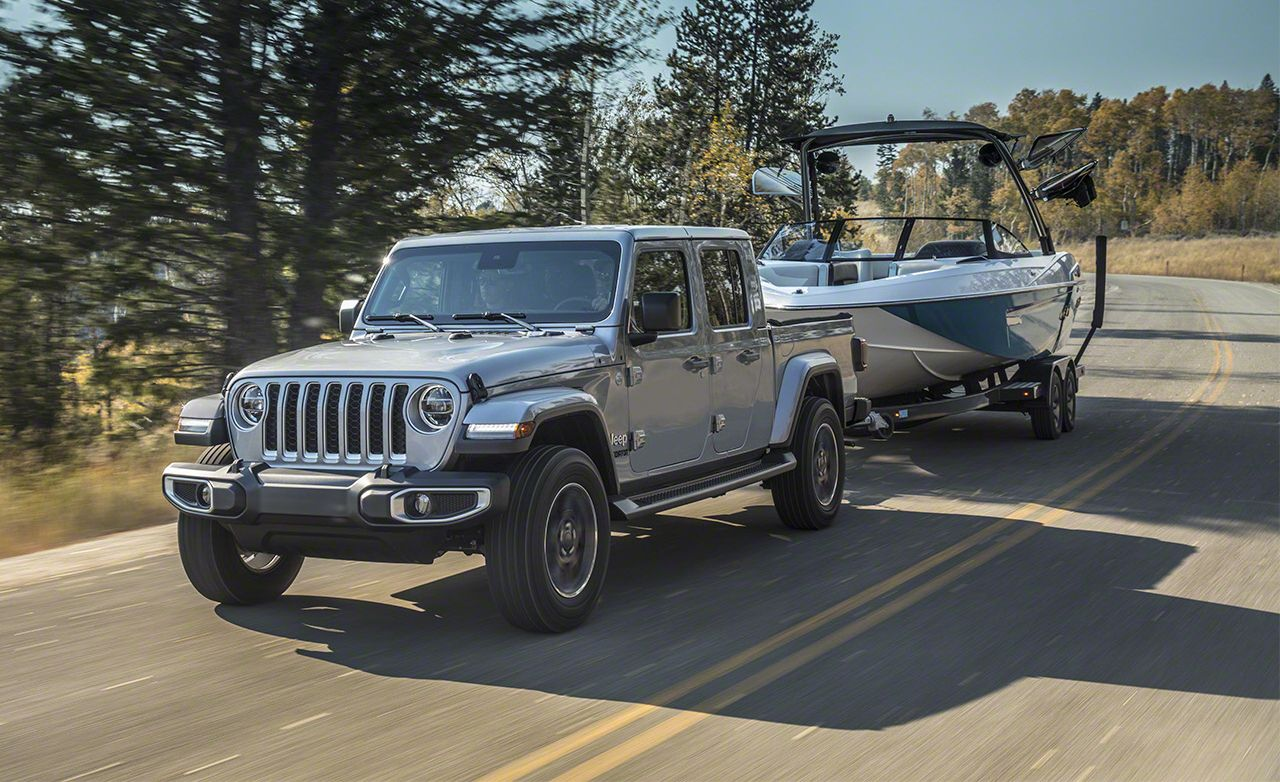 Jeep Gladiator Reviews Price Photos And Specs Car Driver
