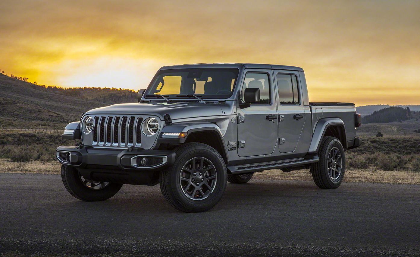 2020 jeep gladiator pickup jt  a wranglerbased midsize