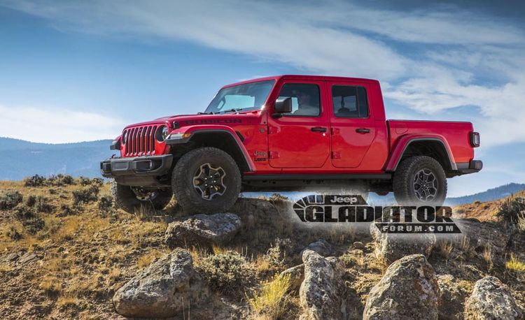 The Jeep Wrangler Pickup Truck Is Almost Here, Reportedly Called Gladiator