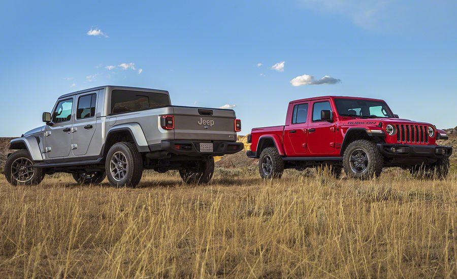 2020 Jeep Gladiator Pickup JT - A Wrangler-Based Mid-Size ...