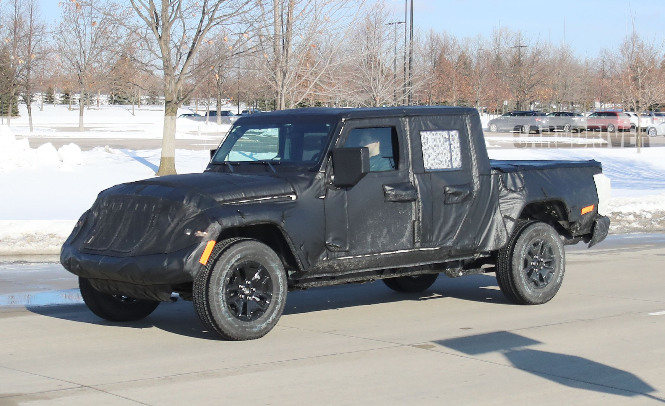 Jeep Wrangler Pickup Reviews   Jeep Wrangler Pickup Price, Photos, And  Specs   Car And Driver