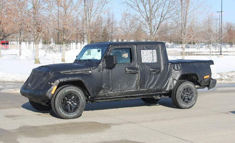 The Jeep Wrangler Pickup Truck Debuts Next Month