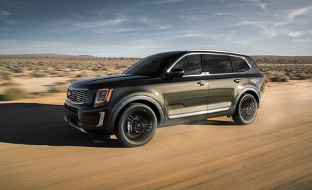 The 2020 Kia Telluride is a Not-Boring, Really Bold Three-Row Crossover