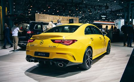 The 2020 Mercedes-AMG CLA35 Is the Curvier Choice among Entry-Level AMGs