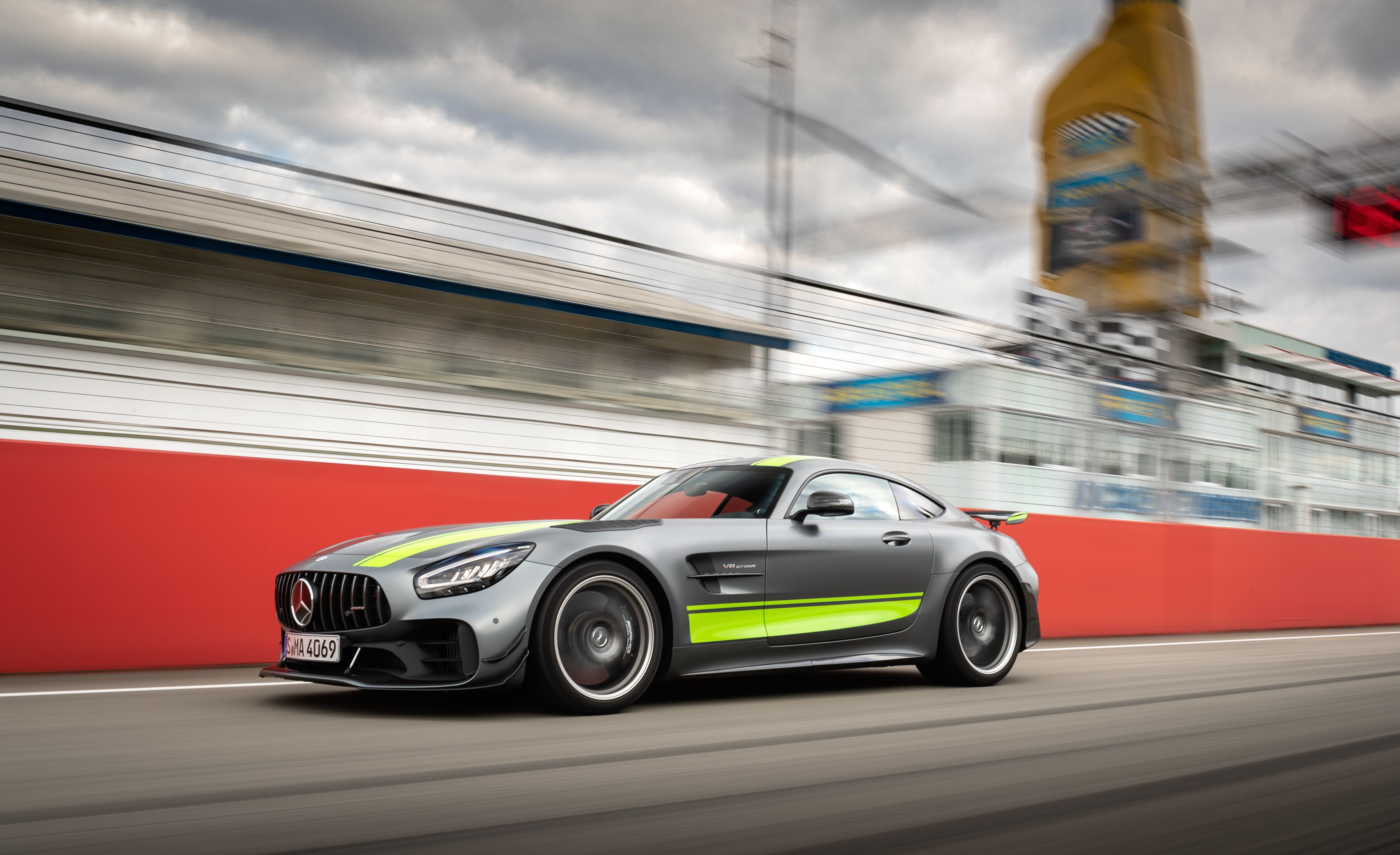 The 2020 Mercedes-AMG GT R Pro Loves to Dance in the Rain