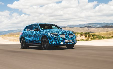 2020 Mercedes-Benz EQC - Prototype Ride - Gallery
