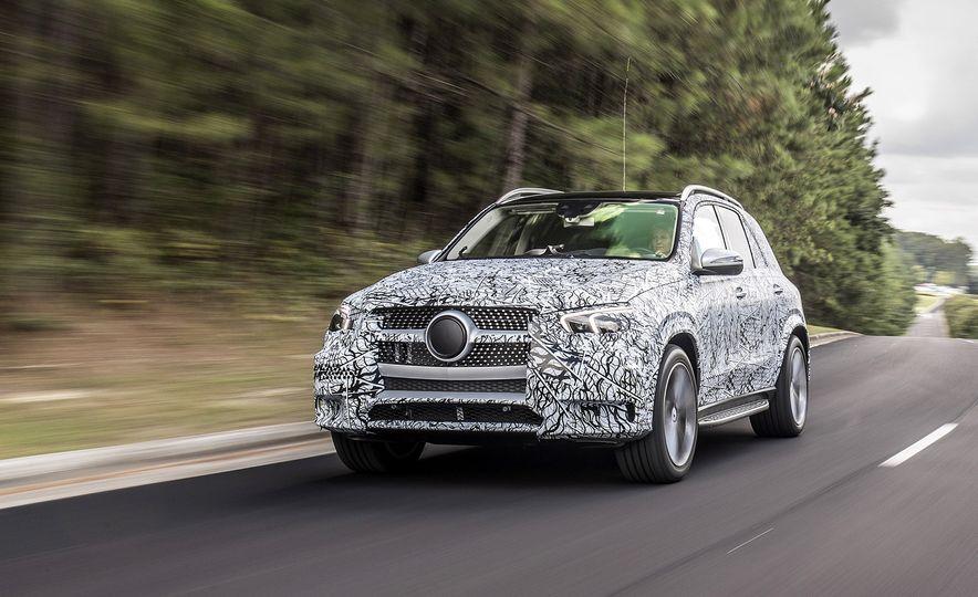 2020 Mercedes-Benz GLE-class prototype - Slide 1