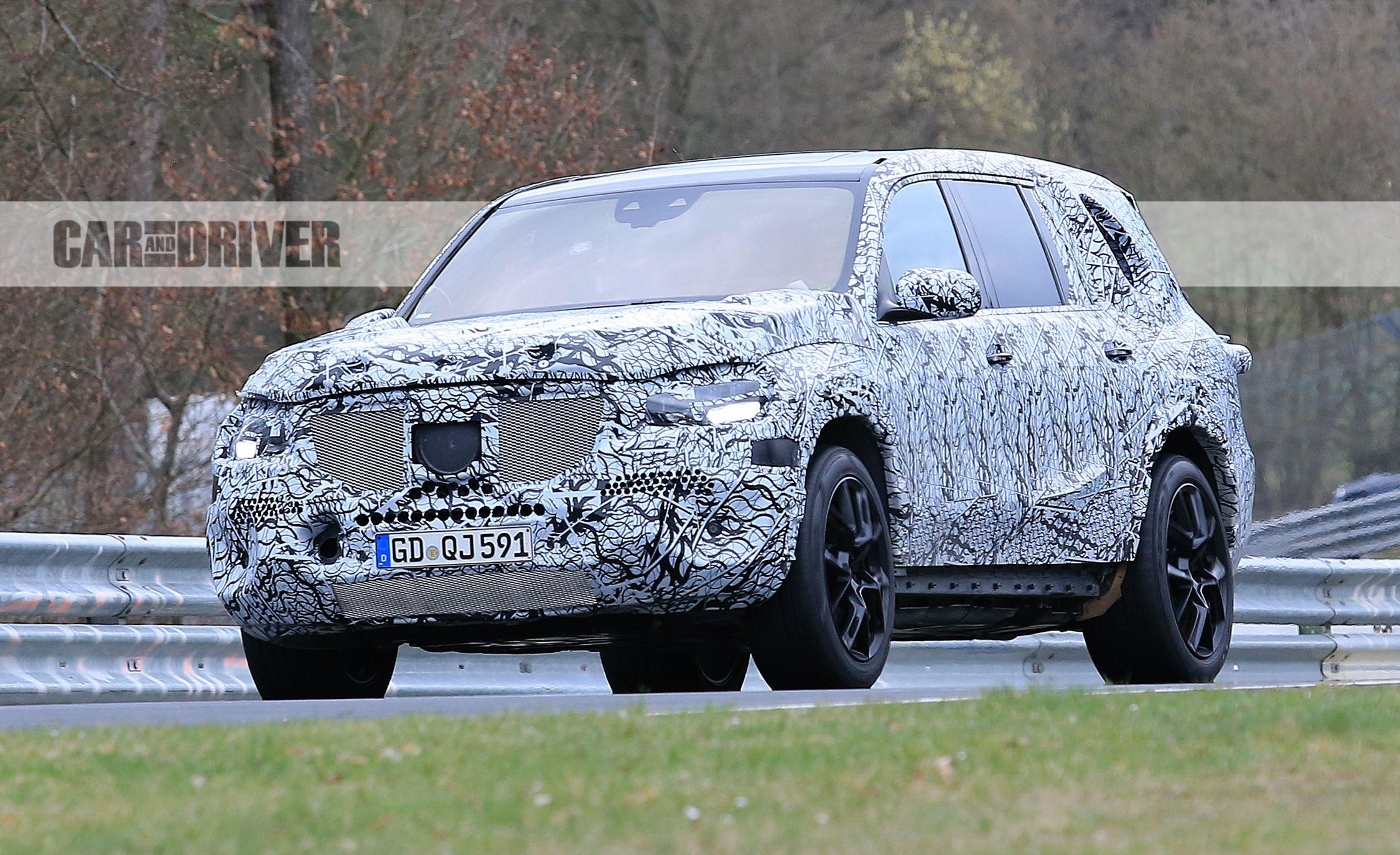 Mercedes Benz Gls Spy Photo Edit on Next Generation Dodge Ram