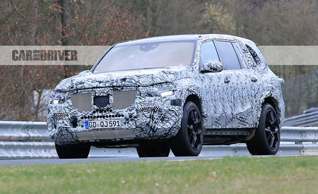 We Spied the 2020 Mercedes-Benz GLS-class at, of All Places, the Nürburgring