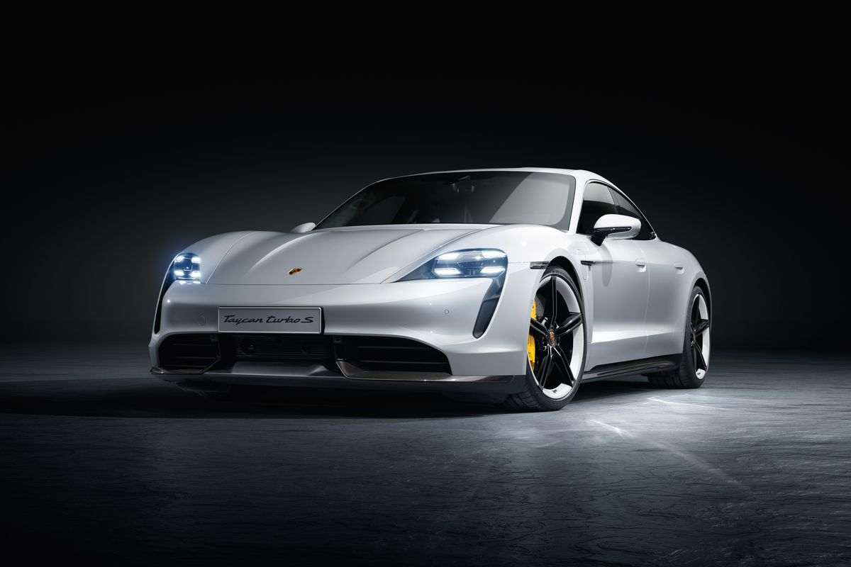 The Porsche Taycan's Design Points to the Past