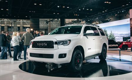 The 2020 Toyota Sequoia TRD Pro Is an Off-Road Behemoth