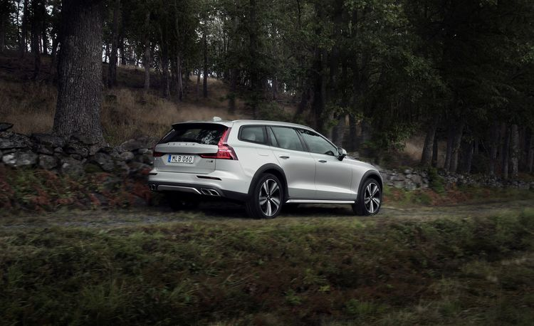 New Volvo V60 Wagon Gets the Cross Country Treatment, and It Looks Great