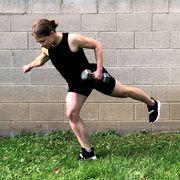 dumbbell back workout