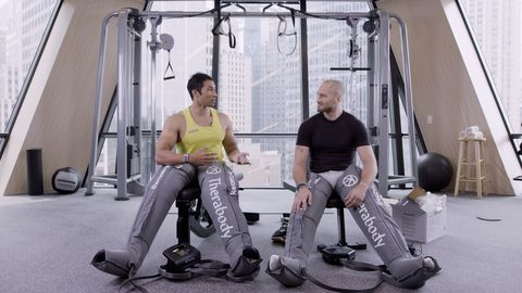 preview for Therabody Boots | MH Strong