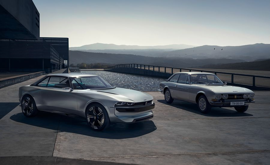 The Peugeot e-Legend Concept Has Tesla-Beating Looks and Range
