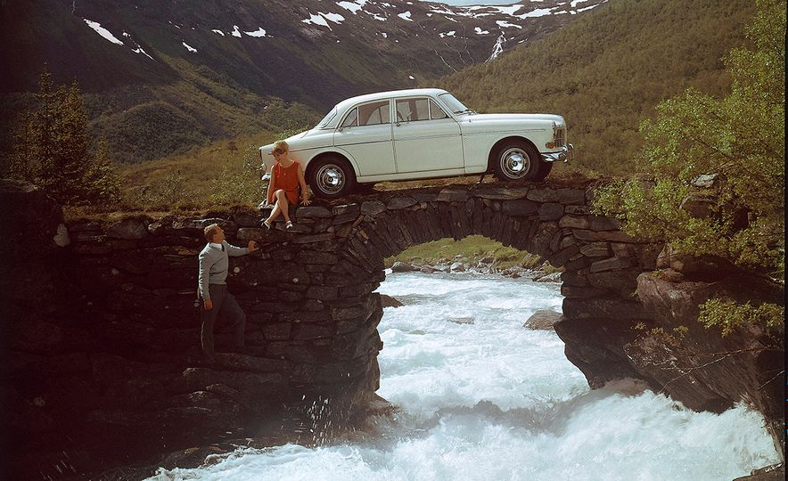 Inappropriately Captioned Vintage Volvo Promotional Photography - Slide 21