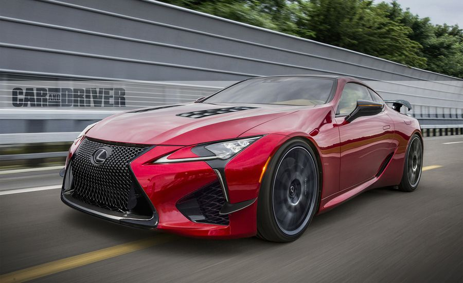2022 Lexus LC F: More Power, Less Weight