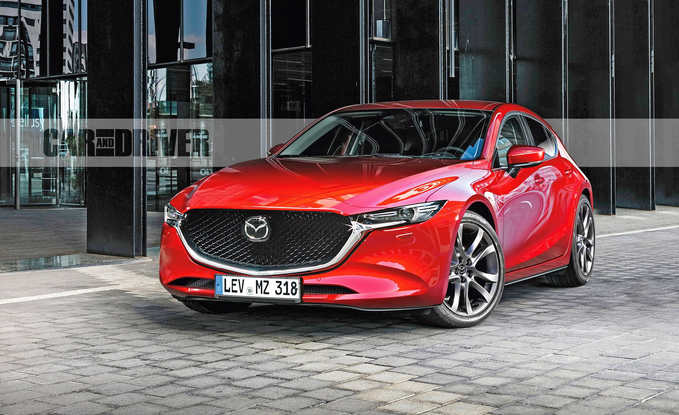 2019 Mazda Rx9 >> All-New 2019 Mazda 3 Teased - Sleek New Model Debuts This Month