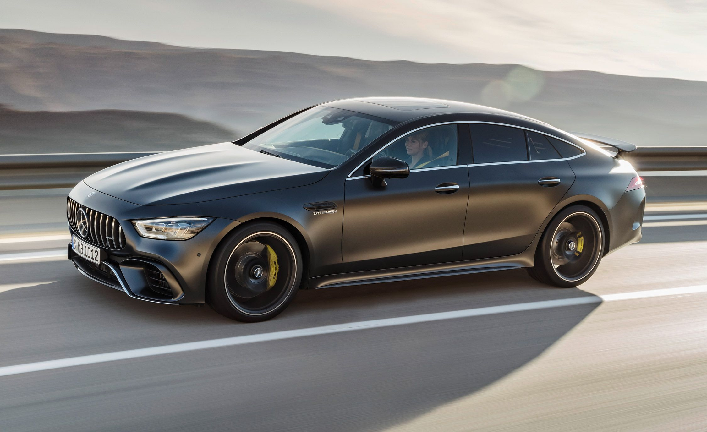 2019 Mercedes Amg Gt 4 Door Coupe A Pure Blooded Sports Sedan 25 Cars Worth Waiting For Car And Driver