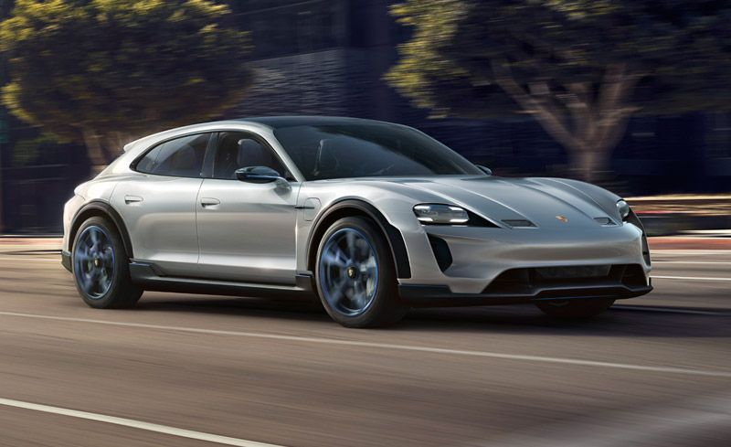 2021 porsche taycan cross turismo a fully electric wagon aimed at tesla 25 cars worth waiting