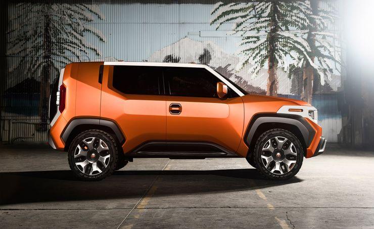 2020 Toyota FT-4X: A Funky Fresh Box
