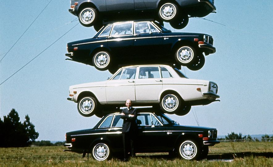 Inappropriately Captioned Vintage Volvo Promotional Photography - Slide 26