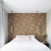Bedroom, Room, Furniture, Bed, Property, Bed frame, Bed sheet, Wall, Floor, Interior design,