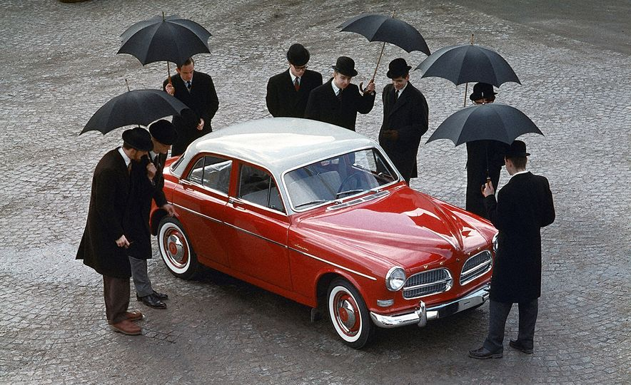Inappropriately Captioned Vintage Volvo Promotional Photography - Slide 29