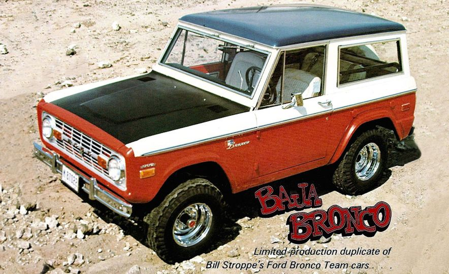 A Visual History of the Ford Bronco, from Trail Crawling to Slow-Speed Chases - Slide 3