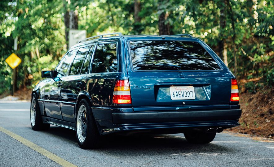 A Visual History of AMG-Modified Mercedes-Benz E-class Wagons - Slide 4