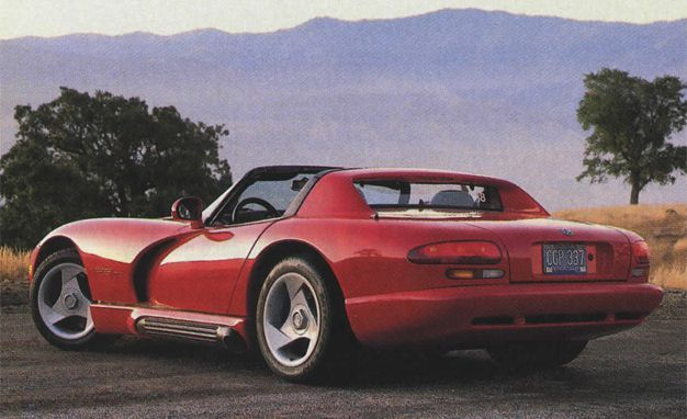 Snake, Recoiled: A Visual History of the Dodge Viper - Slide 4