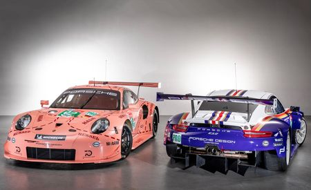 Pink Pig Flies Again! Porsche Brings Back Historic Racing Liveries