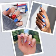 july 4 fourth of july nails nail designs manicure