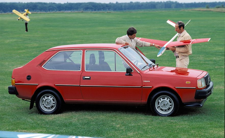Inappropriately Captioned Vintage Volvo Promotional Photography - Slide 5