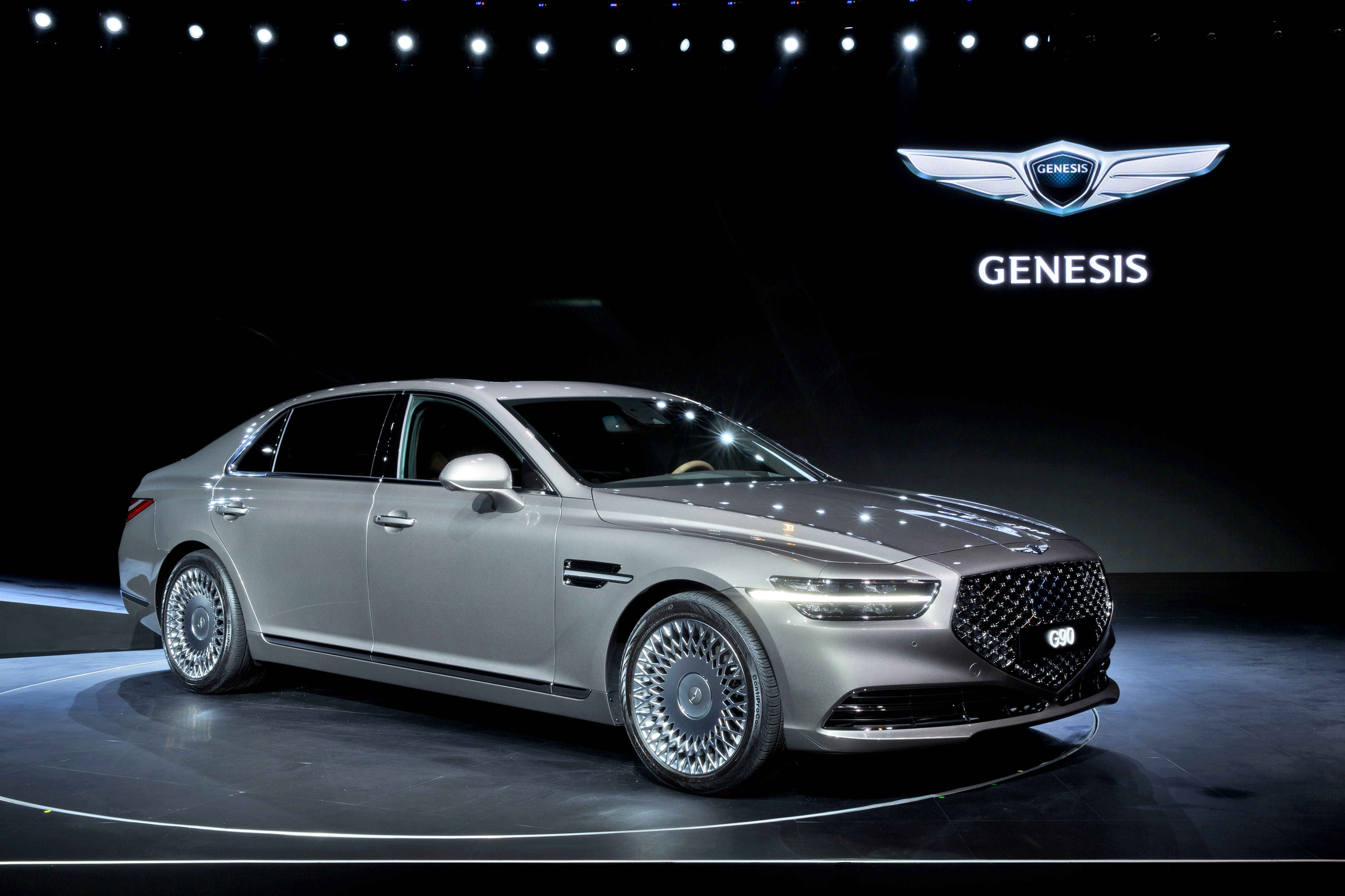 The 2020 Genesis G90 Shines Like a Crazy Diamond