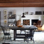 Room, Furniture, Interior design, Dining room, Property, Building, Table, Ceiling, Living room, House,
