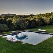 swimming pool, natural landscape, property, grass, estate, house, backyard, real estate, design, reflecting pool,