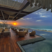 Sky, Property, Resort, Architecture, Real estate, Room, Building, Sea, House, Ocean,