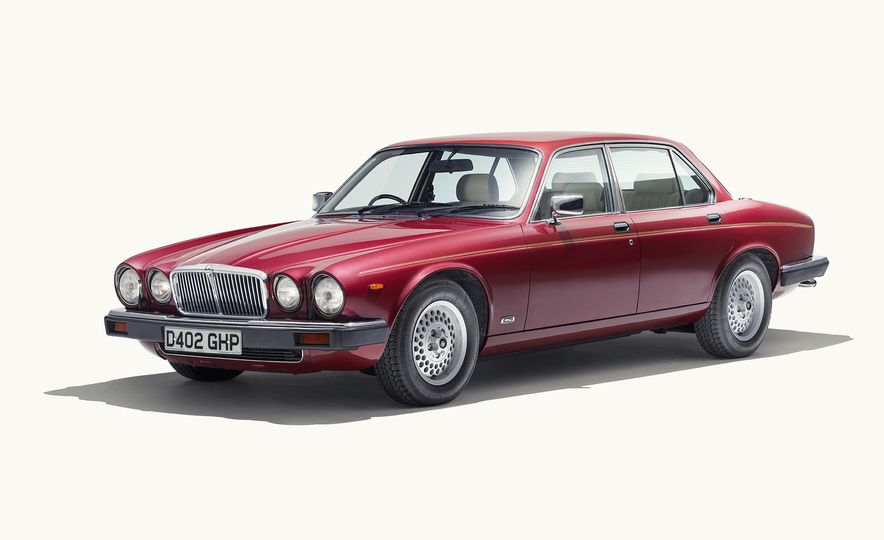 A Visual History of the Jaguar XJ's 50 Years of Elegance - Slide 6