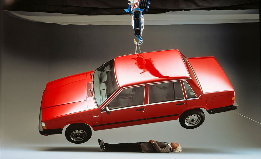 Inappropriately Captioned Vintage Volvo Promotional Photography - Slide 7