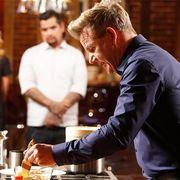 Celebrity chef scrambled eggs