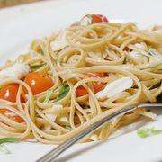Dish, Food, Cuisine, Spaghetti, Noodle, Capellini, Ingredient, Spaghetti aglio e olio, Shirataki noodles, Al dente,