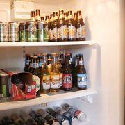 Paul Kita's beer fridge