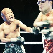 George Foreman Steven Segal fight