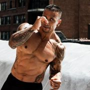 Barechested, Muscle, Chest, Arm, Abdomen, Trunk, Tattoo,