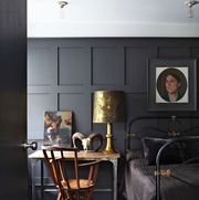 Black paint colors for bedrooms