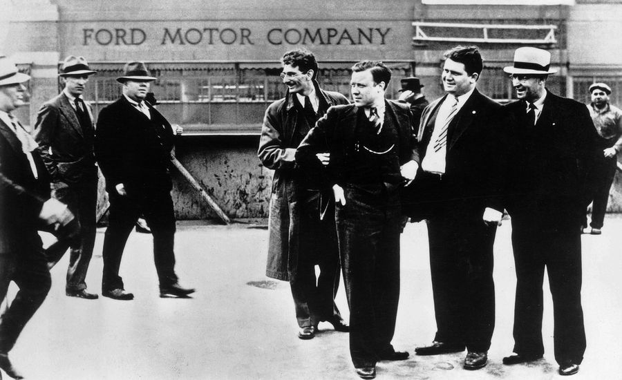 A Brief History of the United Auto Workers